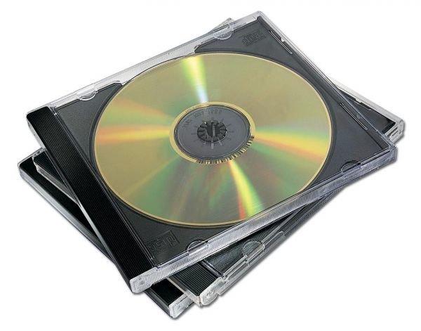 CD vāciņi melni, (10gab./iep.)