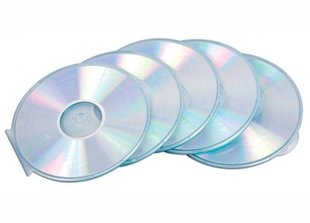 CD vāciņi, apaļi, (5gab./iep,)