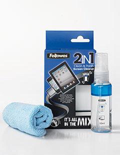 Skārienjūtīgo ekrānu tīrīšanas un pulēšanas šķidrums Clean&Polish