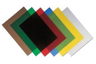 Vāki caurspīdīgi krāsaini, PVC